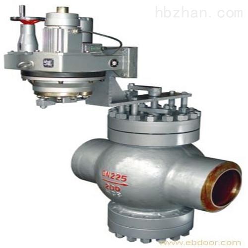 电动焊接给水回转调节阀