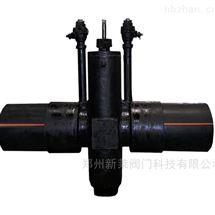 MZ67F-10钢制PE管燃气平板闸阀