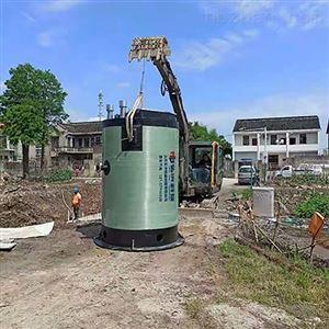 地埋式一体化雨水提升泵站上海弘泱厂家
