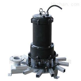QXB型离心式潜水曝气机装置