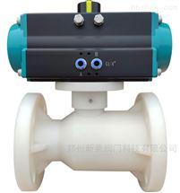 Q641F-10S气动PVDF塑料球阀
