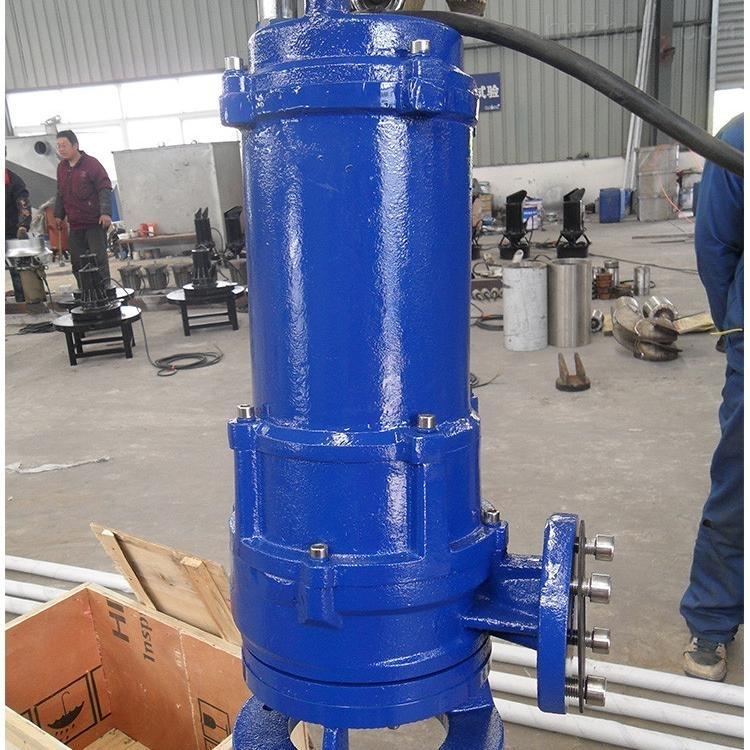 绞刀式潜水泵型号报价