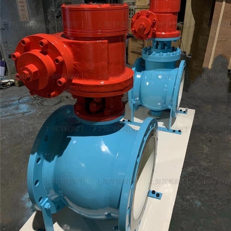 DN500液动大口径偏心半球阀