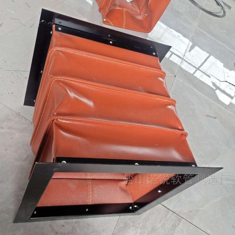 高温除尘硅钛布走风通风软连接
