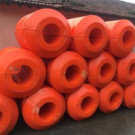 FT1000*1000LLDPE聚乙烯材质水上浮管子组合式管道浮筒