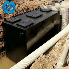 DM-B地埋式污水一體化設備現場安裝