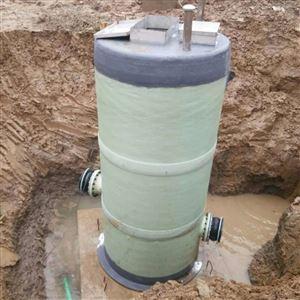 HT玻璃钢污水提升泵一体化泵站