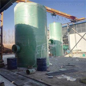 YL玻璃钢雨水预制泵站工艺