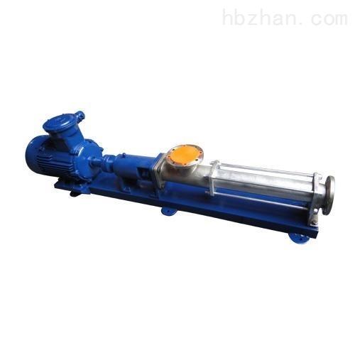 电动G型单螺杆泵