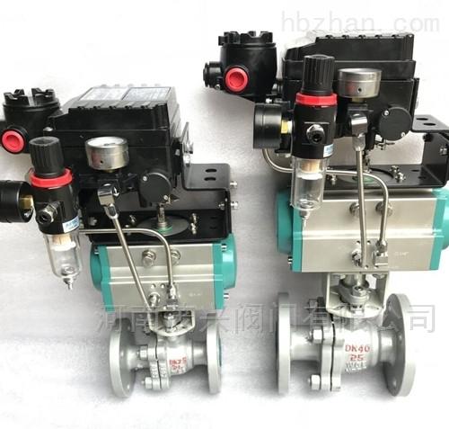 Q641F气动调节球阀