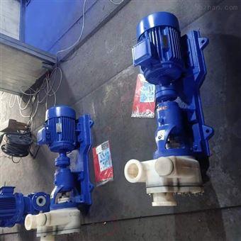 FZB耐酸碱氟塑料合金自吸泵