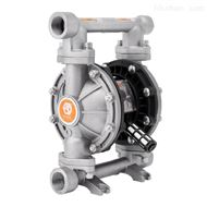 QBY3-25PTFF不锈钢气动隔膜泵 自吸无堵塞泵耐腐蚀水泵