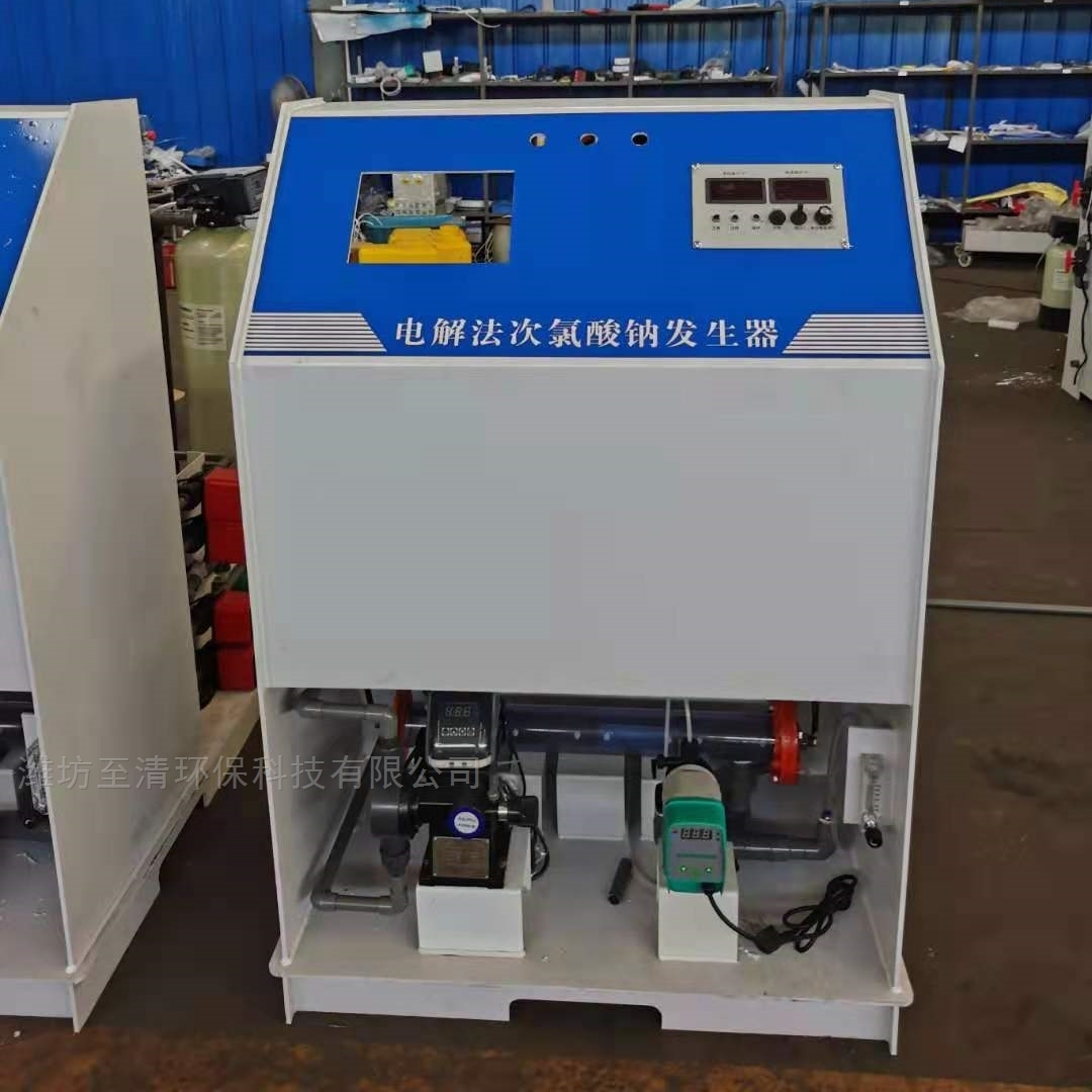 大型水厂消毒设备次氯酸钠发生器