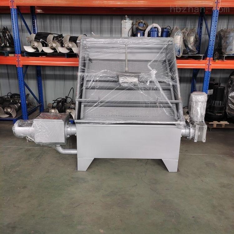 RKSF20螺旋挤压式干湿分离机不锈钢禽畜粪便脱水机