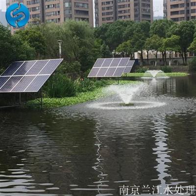 SFT-LJ-750南京兰江太阳能喷泉式曝气机