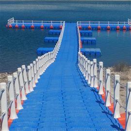 FT500*500*400水上钓鱼平台浮筒浮桥水库走廊搭建