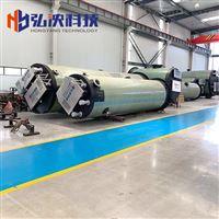 江苏一体化污水提升泵站厂家玻璃钢泵站装置