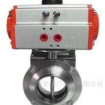 气动卫生级焊接蝶阀D681X