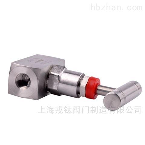J13W不锈钢针型阀