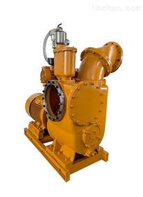 双进水口带便拆清污板的大流量高吸程自吸泵