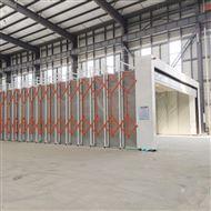 伸缩式喷漆房环保设备