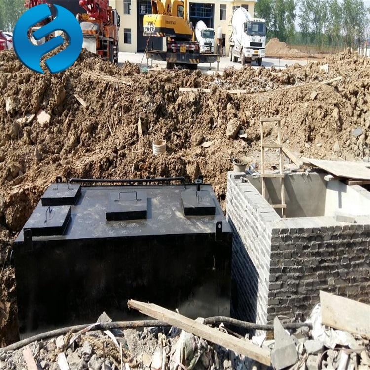 农村一体化污水处理设备改造方案