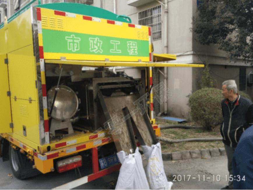 江苏南京吸污车案例