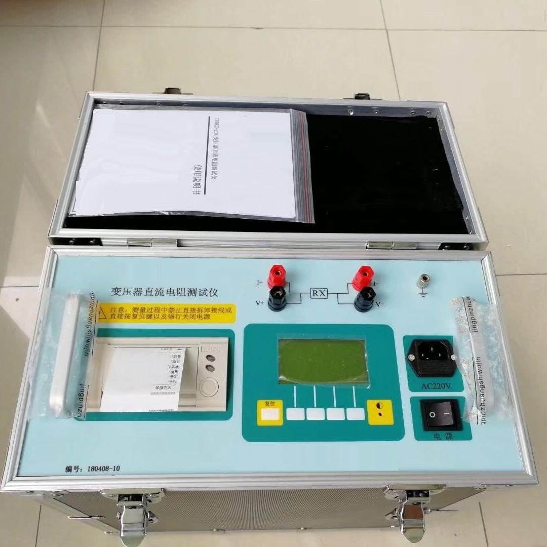 智能直流电阻测试仪施工的主要事项一般出现问题的解决方法