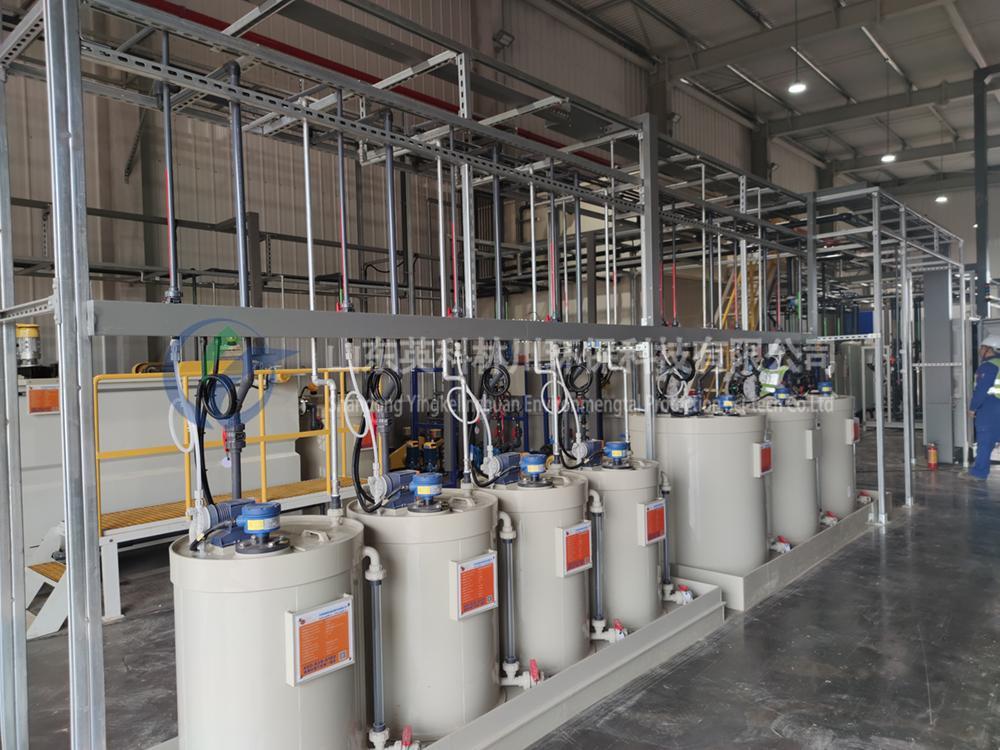 回访公司四川某农药制药企业废水处理项目
