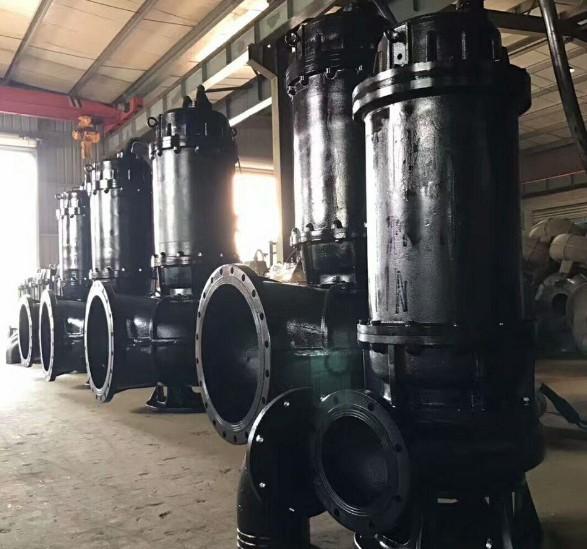 WQ潜水排污泵安装方法与安装尺寸