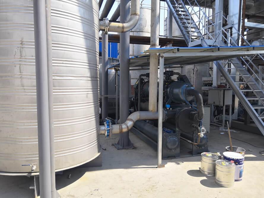 180P螺杆式冷水机使用现场案例