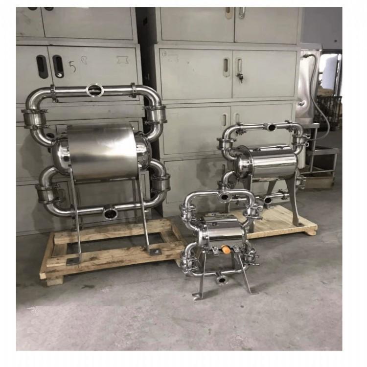 新型卫生级气动隔膜泵的特点与应用