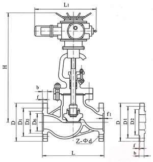 J941H电动截止阀