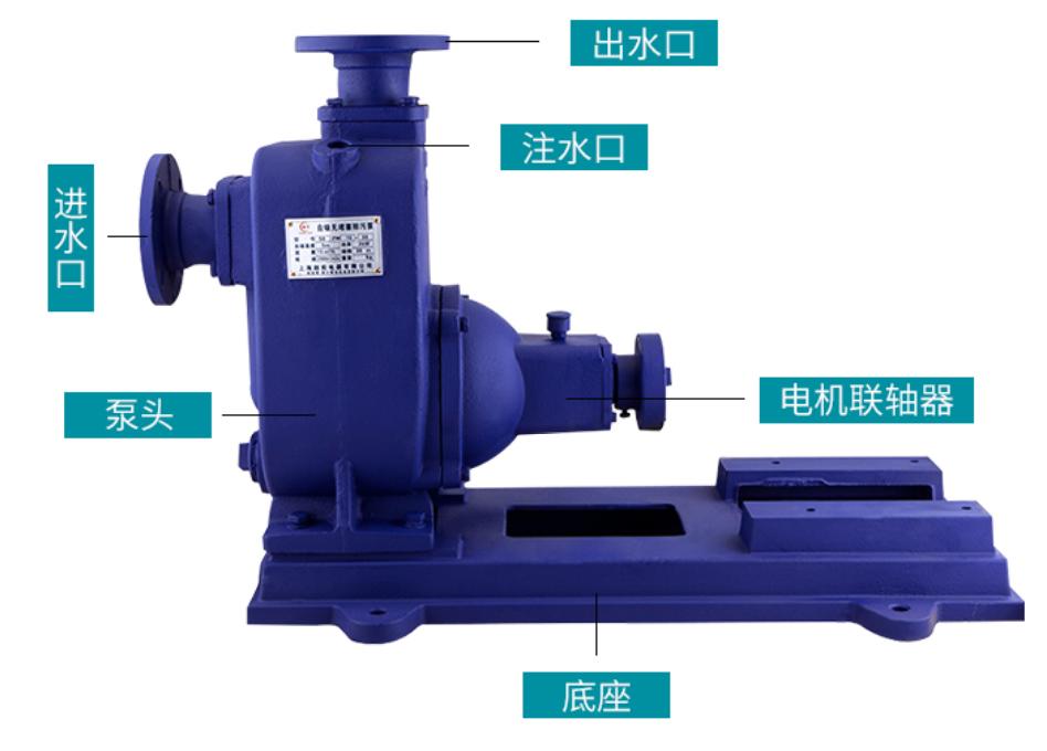 ZX自吸泵结构图