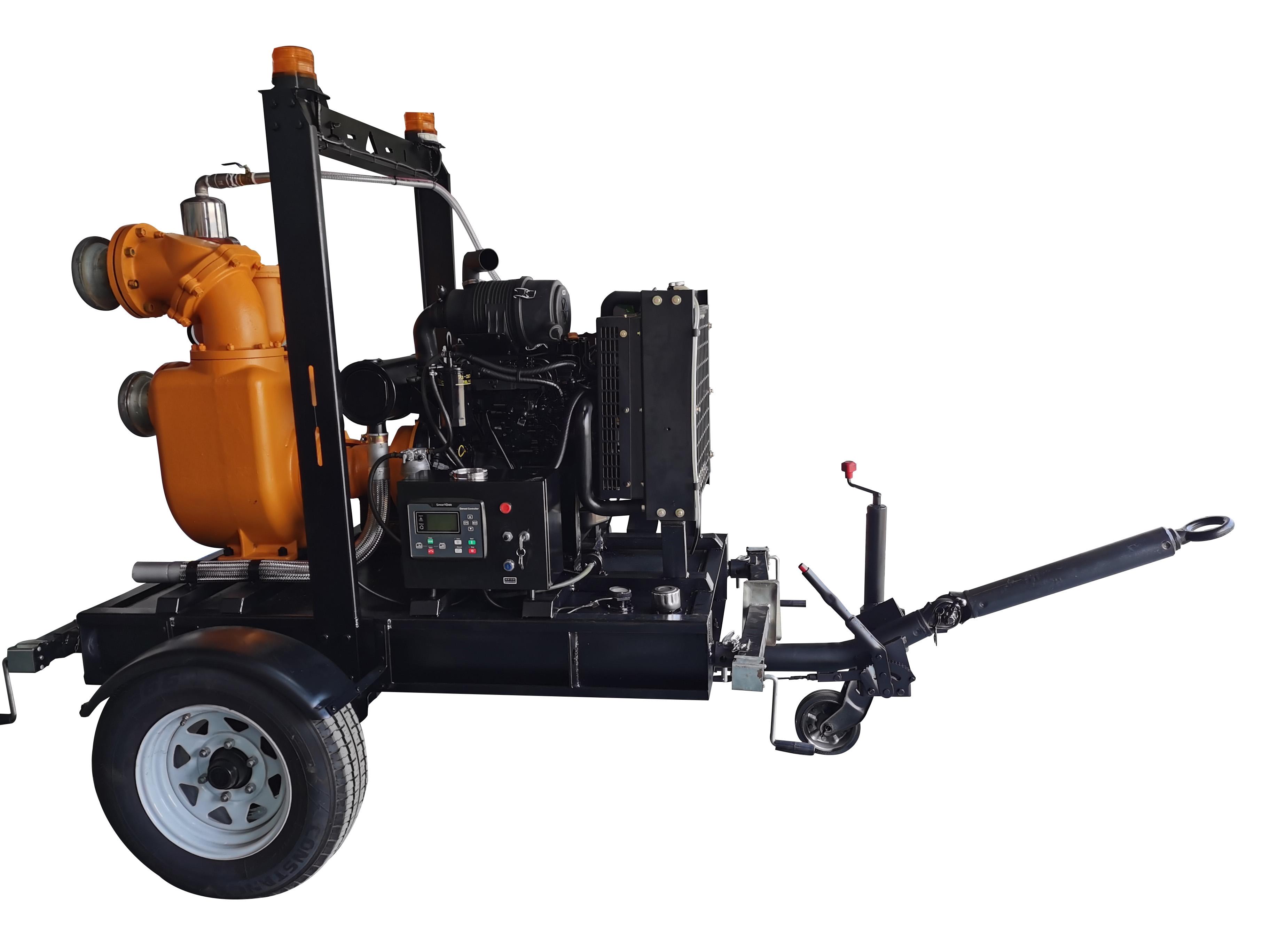 柴油机真空辅助自吸泵