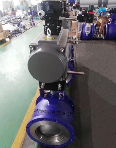 QV647F气动V型球阀