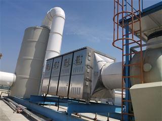 FINE-JH80000福建某饲料厂废气净化处理设备