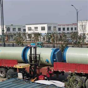玻璃钢一体化污水提升泵站整套报价