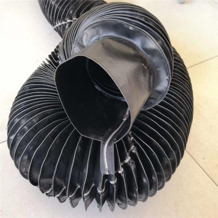 缝合式液压油缸圆形伸缩防护罩