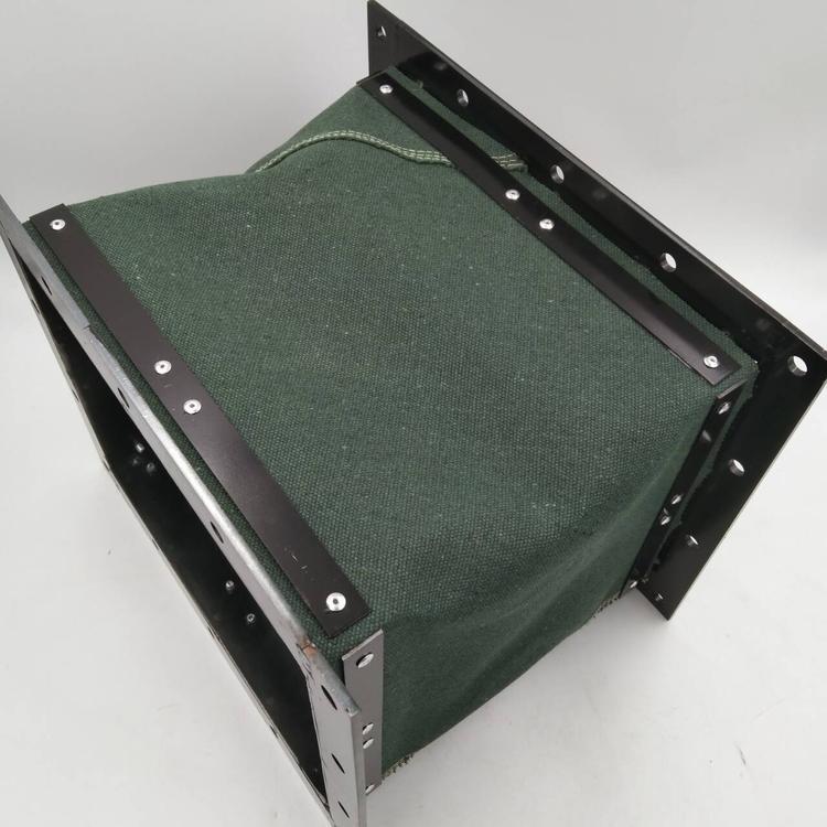 帆布机械设备排烟伸缩软连接