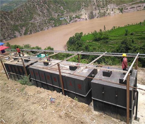 新款地埋一体化屠宰污水处理设备