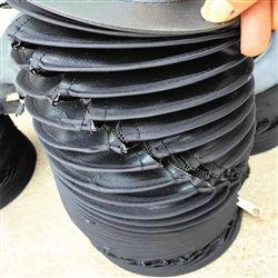缝合式液压杆伸缩防尘罩