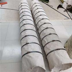 白帆布水泥散装下料软连接