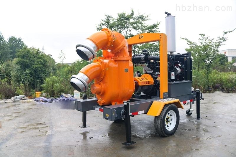 移动排涝泵车
